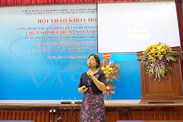 Các đại biểu trình bày tham luận