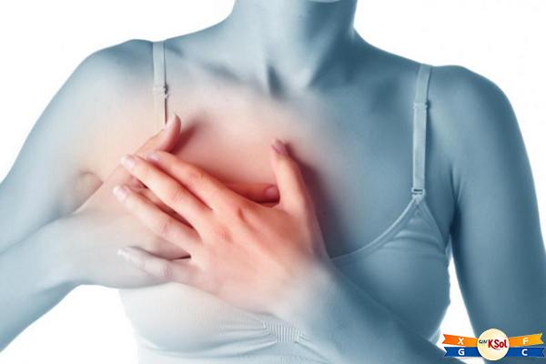 Đau tức ngực là triệu chứng phổ biến của ung thư vú