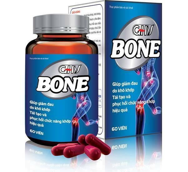 GHV Bone - Không còn nỗi lo xương khớp
