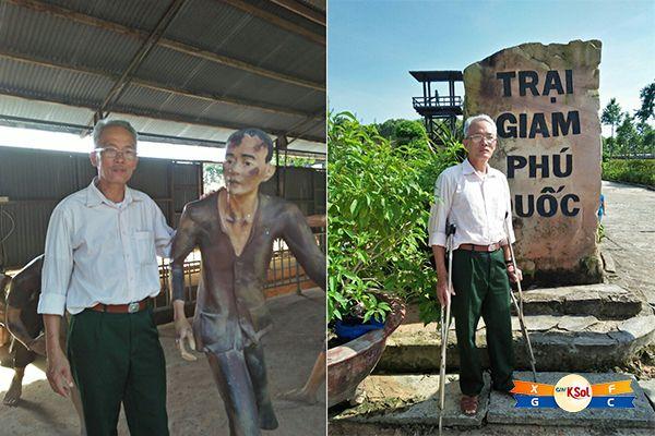Điểm cuối trong cuộc hành trình xuyên Việt của chú Chương là Phú Quốc