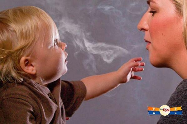 Cha mẹ hút thuốc làm tăng nguy cơ ung thư máu ở trẻ