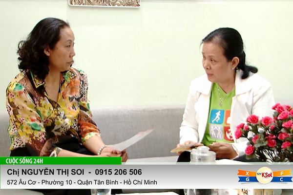 Chị Soi chia sẻ, truyền cảm hứng cho chị Nguyễn Mỹ Thục đang bị u xơ…