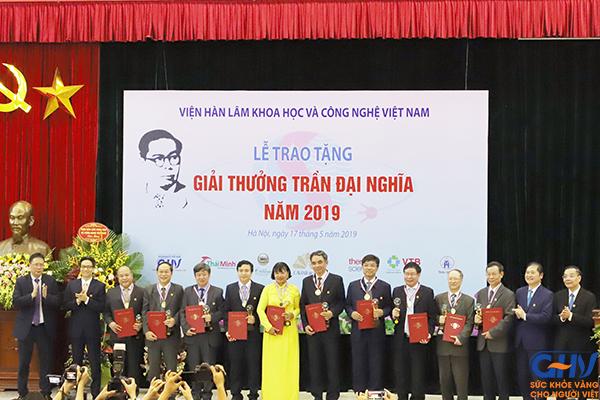 4 công trình đạt Giải thưởng Trần Đại Nghĩa 2019