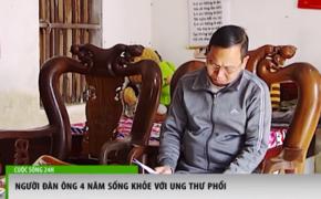 Hành trình 4 năm chiến thắng bệnh ung thư phổi của anh Trần Xuân Chín
