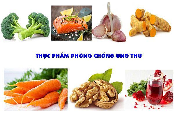 7 loại thực phẩm phòng chống ung thư