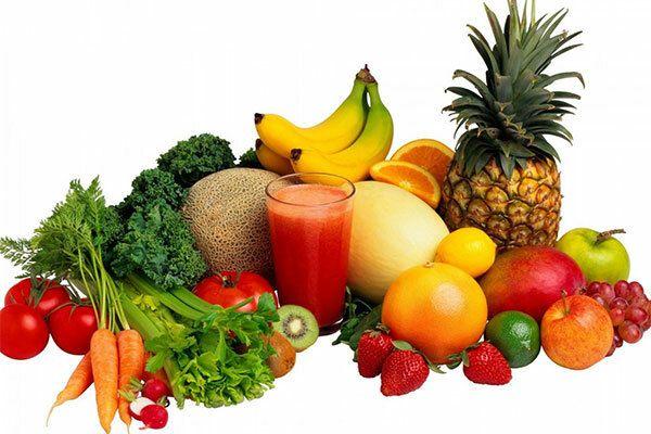 Bệnh nhân ung thư trực tràng nên bổ sung trái cây và rau xanh hàng ngày