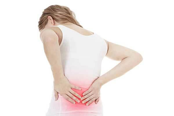 Khi phát hiện ung thư cổ tử cung người bệnh thường đau lưng