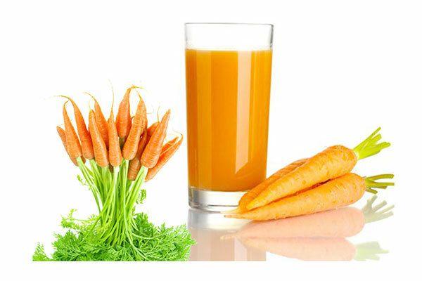 Chữa trị ung thư bằng nước ép cà rốt cực kì hiệu quả