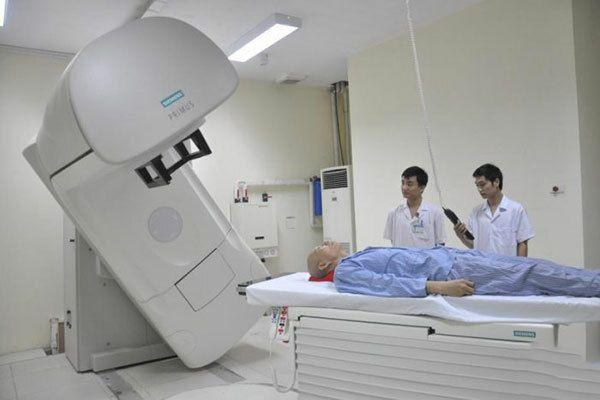 Xạ trị là phương pháp được sử dụng để điều trị ung thư phổi