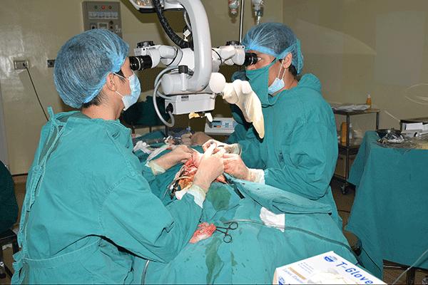 Điều trị ung thư vòm họng bằng phương pháp phẫu thuật