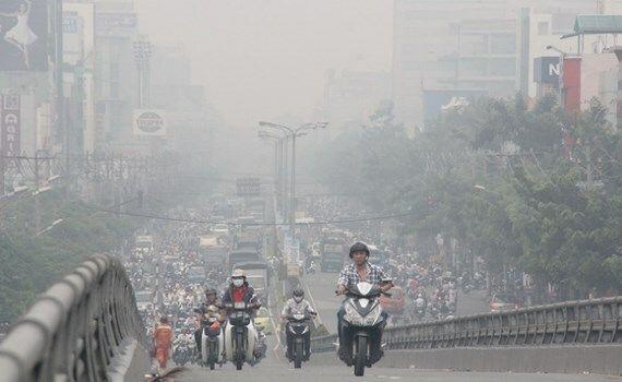 Ô nhiễm môi trường gây ra rất nhiều bệnh trong đó có ung thư buồng trứng