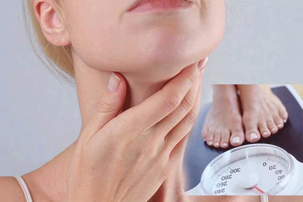 Sụt cân là một trong trong những triệu chứng K tuyến giáp di căn