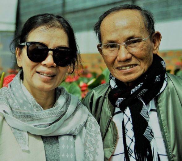 Vợ chồng chị Nguyễn Thị Liễu