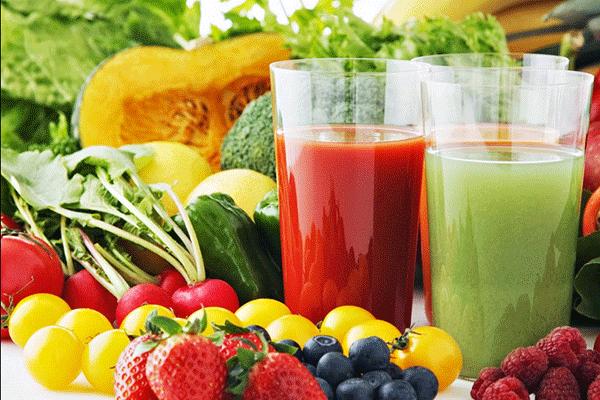 Người bệnh sau hóa trị cần xây dựng một chế độ ăn hợp lý nhiều trái cây và rau xanh