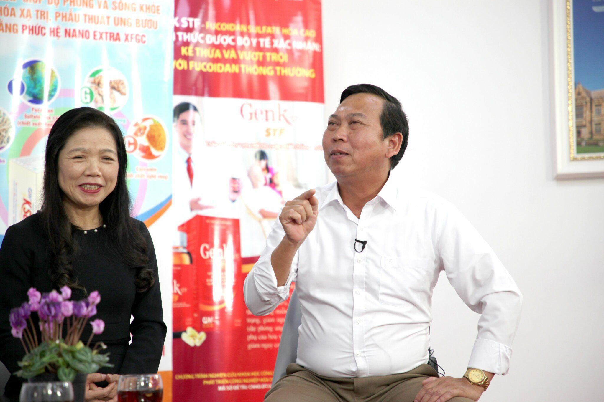 Anh Trần Xuân Chín chia sẻ trong tọa đàm