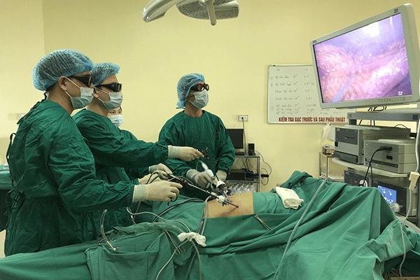 Phẫu thuật là một trong những phương pháp điều trị ung thư dạ dày phổ biến hiện nay