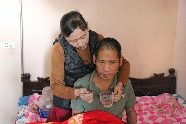 Anh Tiến là động lực giúpchị Nguyễn Thị Xuân Hồng cố gắng