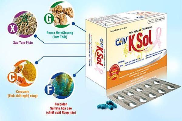 GHV KSol - sản phẩm chứa hoạt chất Fucoidan sulfate hóa cao