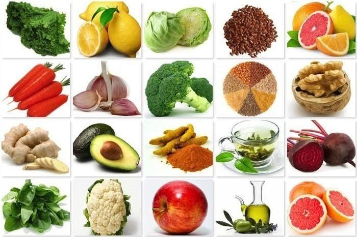 Các thực phẩm tốt cho gan