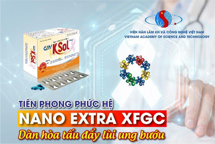 Phức hệ Nano Extra XFGC là thành phần chính trong sản phẩm GHV KSOL