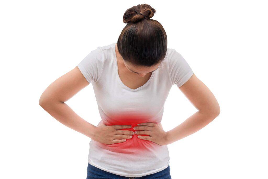 Chướng bụng, đầy hơi là một trong những triệu chứng ung thư buồng trứng