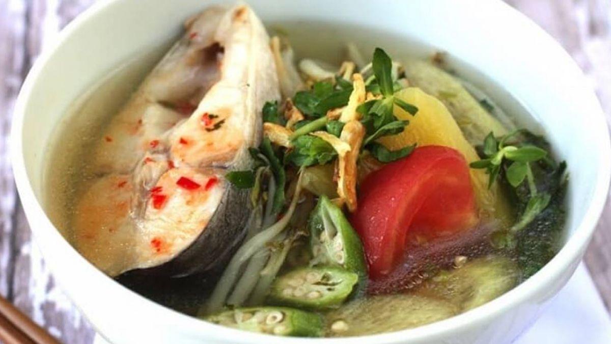 Canh cá cà chua giúp nâng cao đề kháng cơ thể