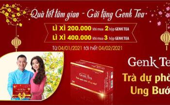 Trà Genk Tea – Quà tết tâm giao, gửi tặng tấm lòng